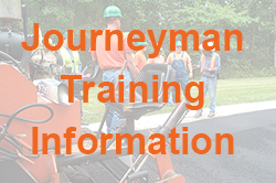 AGC Training Journeyman Training Information